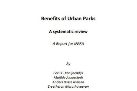Benefits of Urban Parks: a systematic review